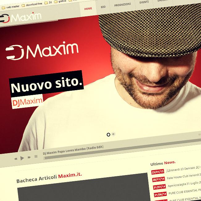 sito dj maxim musica house