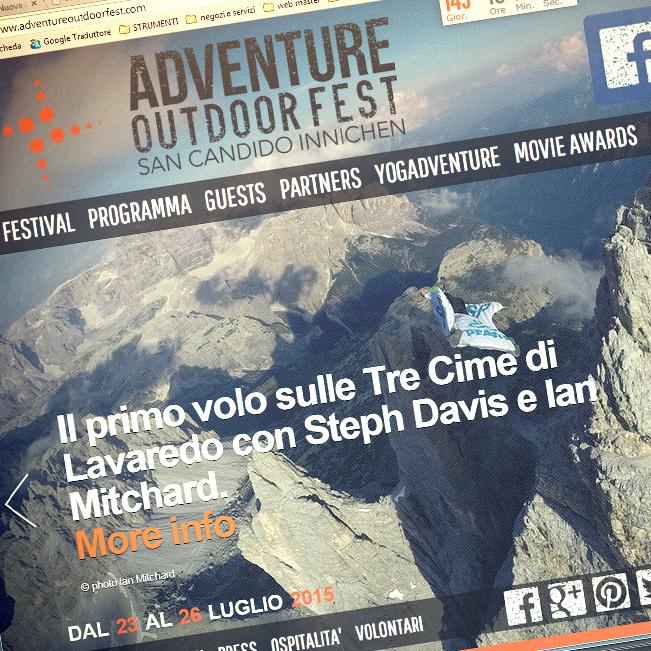 www.adventureoutdoorfest.it san candido sito sportivo